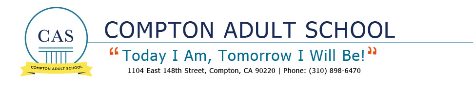 Compton Adult School  Logo